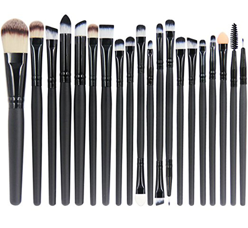 3. EmaxDesign 20 pieces makeup brush set