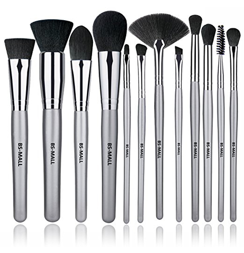 7. BS-MALL 12 Pieces Makeup Brush Set