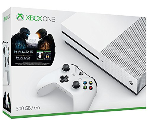 5. Xbox One S 500GB Console (Halo Connection Bundle)