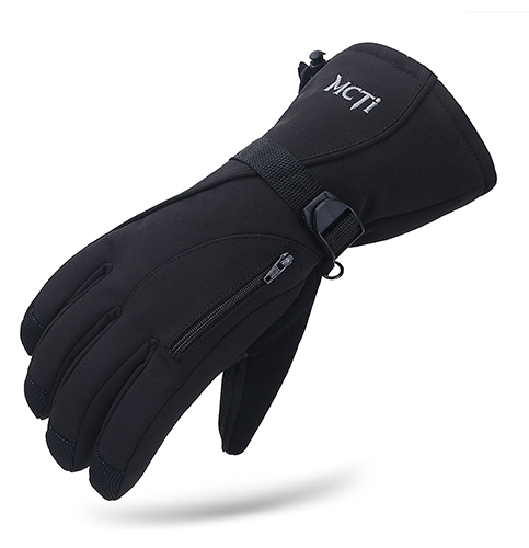1. MCTi Waterproof Mens Ski Gloves