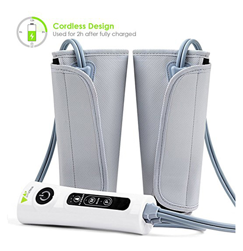 4. Amzdeal Leg Massager Leg Wraps