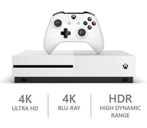 7. Xbox One S 1TB Console (Forza Horizon 3 Bundle)
