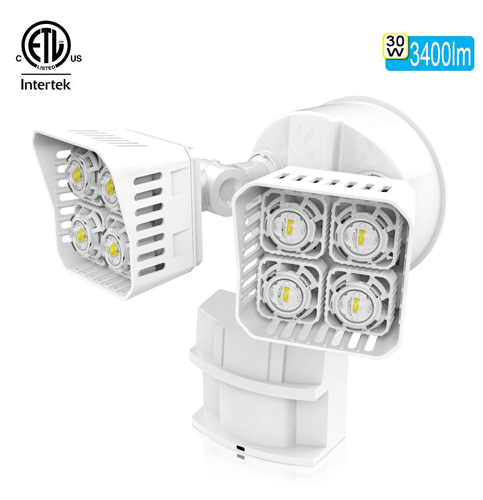 4. SANSI 30W LED Security Outdoor Lights
