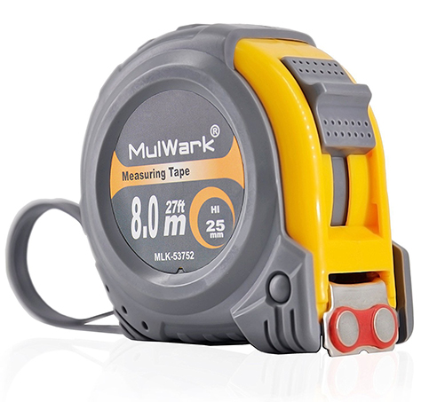 2. MulWark 27ft Measuring Tape