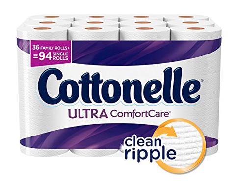 8. Cottonelle ComfortCare Family Toilet Paper36Rolls