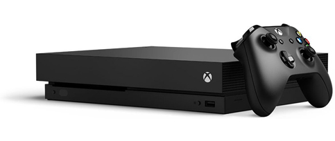 4. Xbox One X 1TB Console