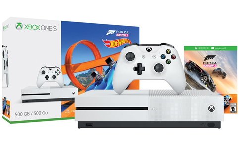 6. Xbox One S 500GB Forza Horizon 3 Bundle Console (Hot Wheels)