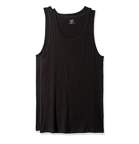 7. CALVIN KLEIN Cotton Classics Tank Tops (3 Pack)