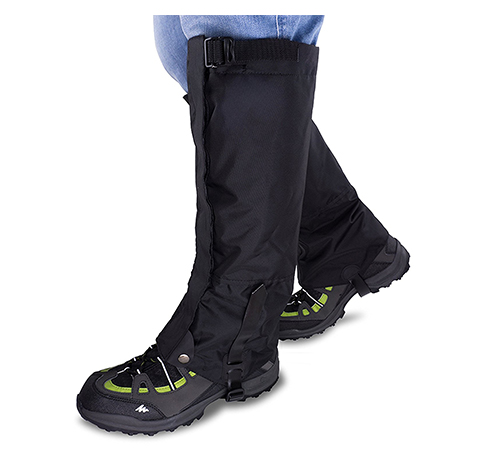 9. Qshare Boots Leg Gaiters