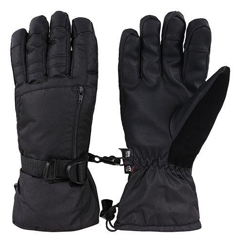 4. Livingston Men's Waterproof Thinsulate Lining Ski Gloves