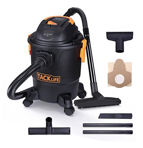10. TACKLIFE Wet Dry Vacuum (PVC01A)