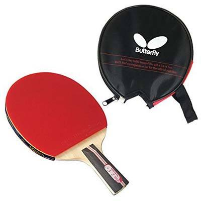 10. Butterfly 302 Table Tennis Racket Set