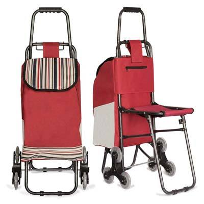 8. Nicely Neat Folding Utility Cart