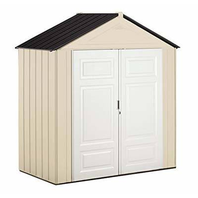 8. Rubbermaid 147-Cubic Feet Outdoor Shed