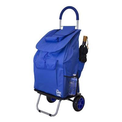 7. dbest products Bigger Trolley Dolly - Blue