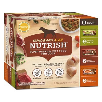 6. Rachael Ray Nutrish Natural Wet Dog Food