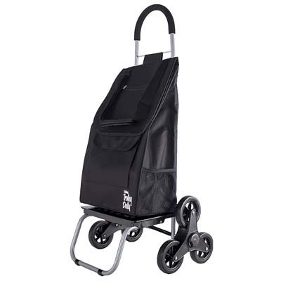 5. dbest products Foldable Cart - Black