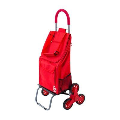 2. dbest products Stair Climber Cart (Red)