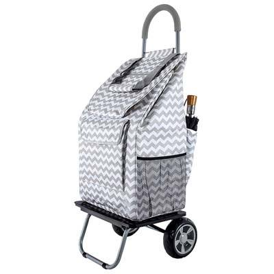 4. dbest products Chevron Shopping Cart