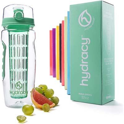 5. Hydra Fruit Infuser Water Bottle (32 Oz)