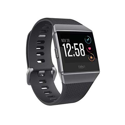1. Fitbit One Size Ionic Smartwatch (S & L Bands Included)