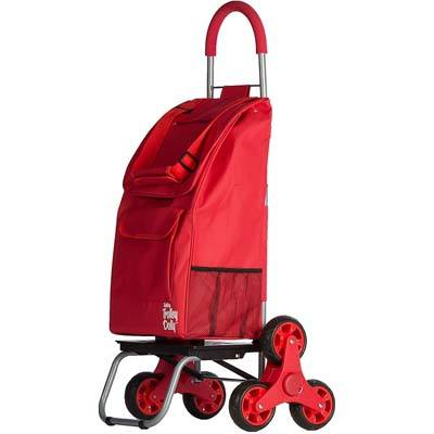 9. dbest products Foldable Cart Condo - Red