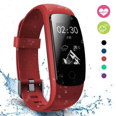 7. moreFit Slim Touch Fitness Tracker