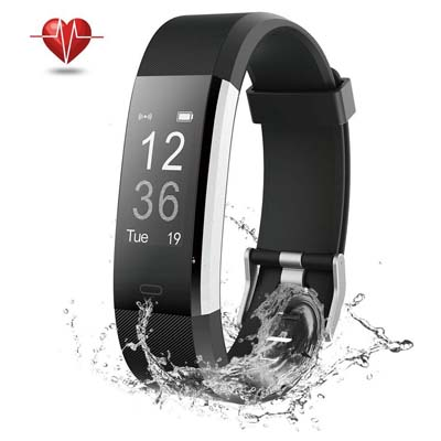 5. NOVETE Bluetooth 4.0 Fitness Tracker