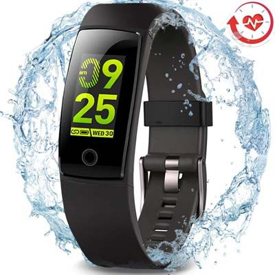9. MorePro Waterproof Health Tracker