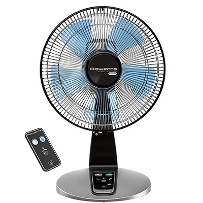 10. Rowenta Electronic Table Fan with Remote Control (VU2660)