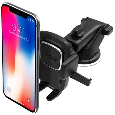 10. iOttie 4 Dashboard and Windshield Car Phone Mount Holder