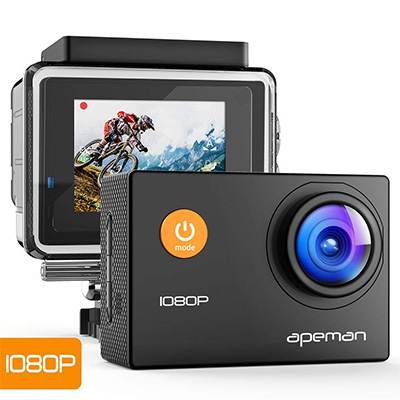 6. APEMAN Action Waterproof Sport Camera [Upgraded]