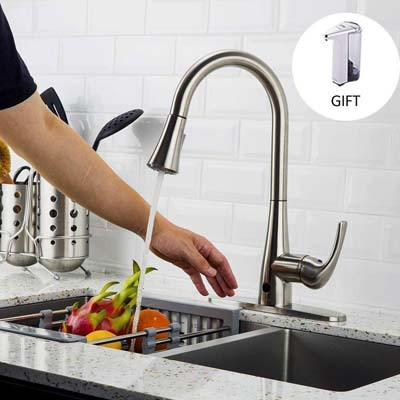 8. Forious Touchless Kitchen Sink Faucet