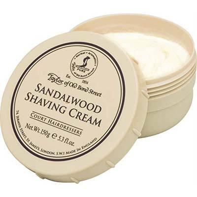 10. Taylor of Old Bond Street, 5.3 Ounce Shaving Cream in a Sandalwood Bowl