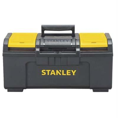 1. Stanley STST19410 One-Latch Toolbox, 19-Inch, Black