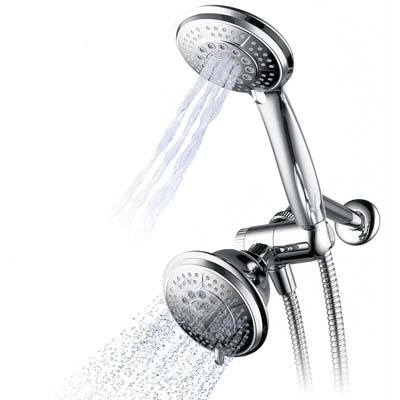 1. Hydroluxe Full-Chrome 24-Function Shower System
