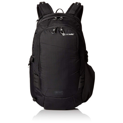 8. Pacsafe V-17 Anti-Theft Camera Backpack