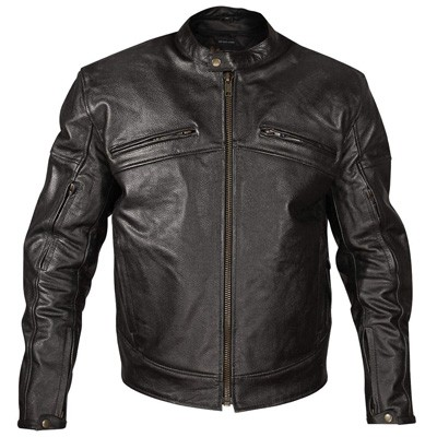 8. Xelement XSPR105 Black Armored Motorcycle Jacket