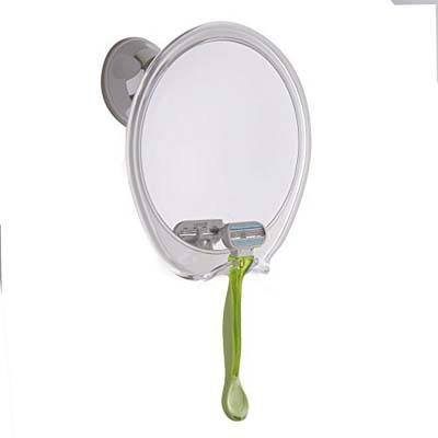 9. Fogless Shower Mirror with Hook