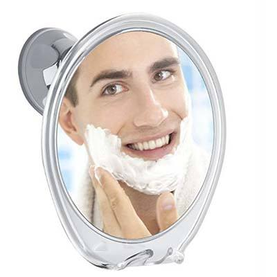 10. Fogless 5X Magnification Shower Mirror