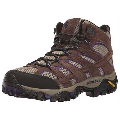 10. Merral Moab 2 Vent Mid Women's Hiking Boots