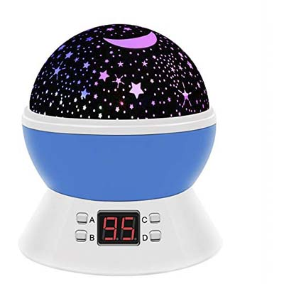 1. Aveqi Star Sky Night Lamp