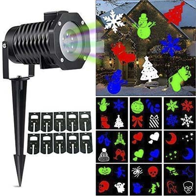 8. Ucharge Christmas LED Projector