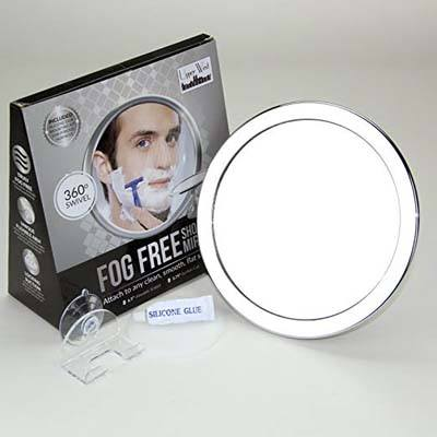3. Upper West Collection Fogless Mirror with 2x Magnification