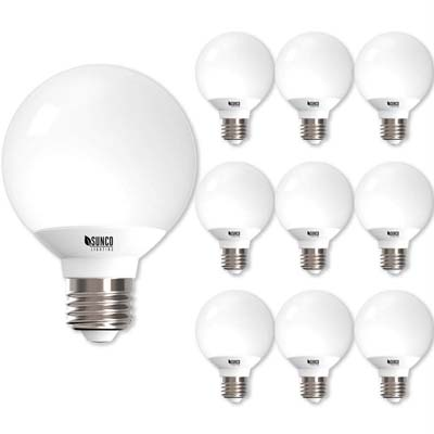 2. Sunco 10-Pack LED Light Bulbs