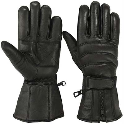 7. Motivex Men's Cold Weather Motorcycle Gloves