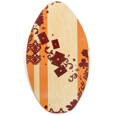 1. Lucky Bums Wooden Skimboard