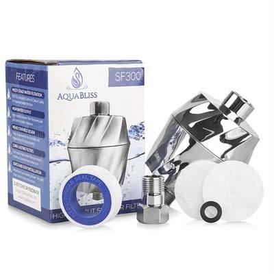 9. AquaBliss SF300 Multi-Stage High Output Shower Head Filter