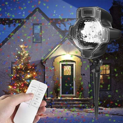 9. Womsky Christmas Projector Lights