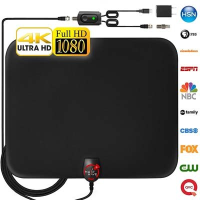 8. U Must Have Amplified Digital TV Antenna [2018 Newest]